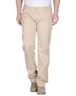 Повседневные брюки HARRY & SONS. Цвет: бежевый