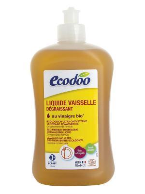 Ecodoo Средство Для Мытья Посуды С Уксусом, Флакон 500 Мл. Цвет: прозрачный, светло-коричневый