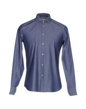Pубашка MANUEL RITZ. Цвет: темно-синий