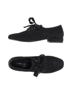 Обувь на шнурках MELLOW YELLOW. Цвет: черный