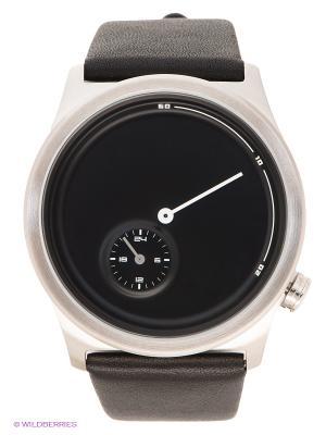 Часы TACS. Цвет: черный, серебристый