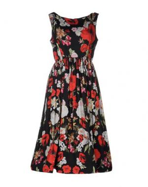 Платье до колена NORA BARTH. Цвет: красный