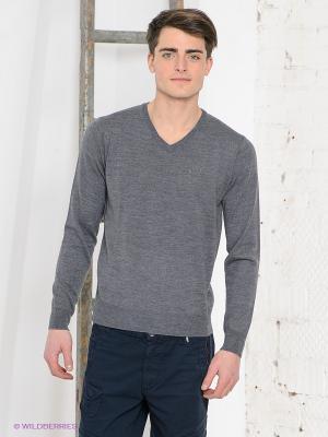 Пуловер Think Pink. Цвет: серый