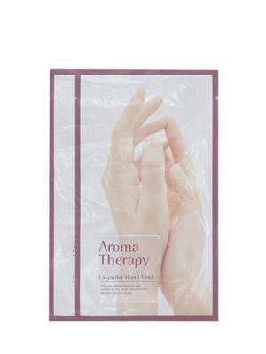 Увлажняющие перчатки для рук Aromatherapy lavender х 2 шт. Royal Skin. Цвет: белый