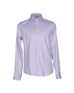 Pубашка RICHARD JAMES. Цвет: фиолетовый
