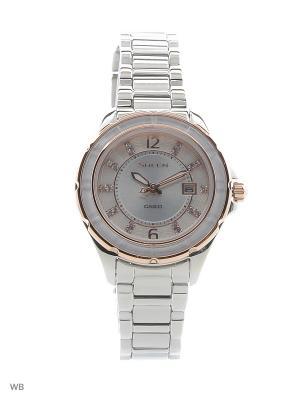 Часы Sheen SHE-4045SG-7A CASIO. Цвет: серебристый
