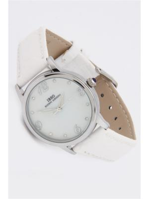 Часы на ремне IBSO. Цвет: серебристый, белый