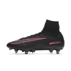 Футбольные бутсы для игры на мягком грунте  Mercurial Superfly V Dynamic Fit SG-PRO Nike. Цвет: черный