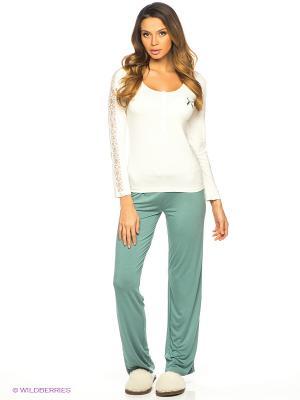 Комплект одежды HAYS. Цвет: зеленый, белый