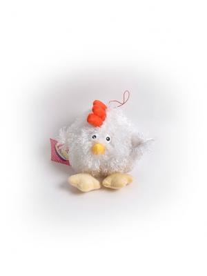 Мягкая игрушка Шарик Петушок Malvina. Цвет: белый