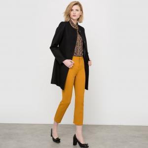 Пальто длинное 50% шерсти MADEMOISELLE R. Цвет: желтый