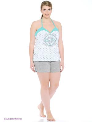 Комплект одежды RELAX MODE. Цвет: серый меланж