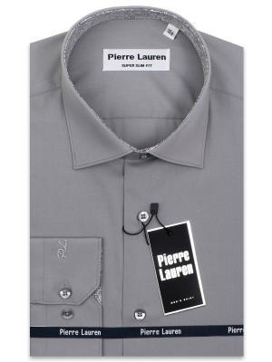 Рубашка Pierre Lauren. Цвет: темно-серый