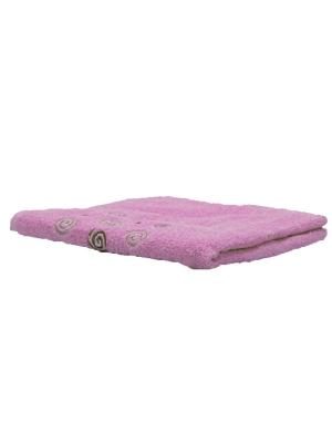 Полотенце махровое KONONO. Цвет: розовый