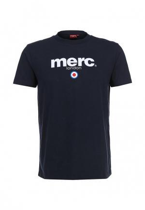 Футболка Merc. Цвет: синий