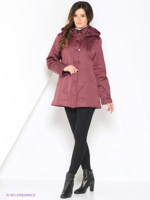 Куртка SUSU Maritta. Цвет: бордовый