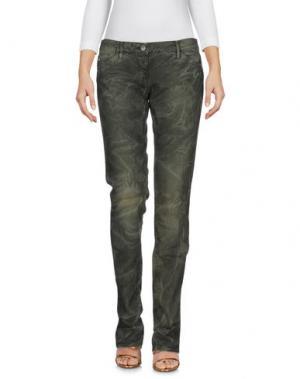 Джинсовые брюки MISS SIXTY. Цвет: зеленый-милитари