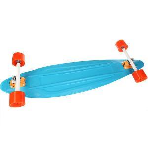 Лонгборд Пластборд Stream Long Blue 9 x 36 (91.4 см) Пластборды. Цвет: синий