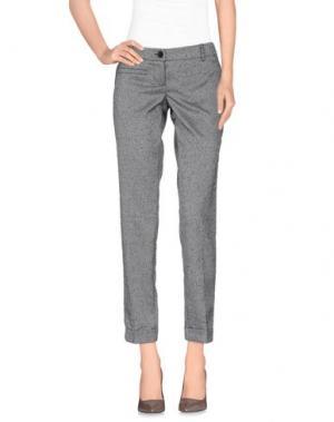 Повседневные брюки GERMANO ZAMA. Цвет: серый