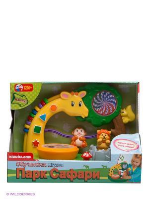 Развивающая игрушка Сафари парк Kiddieland. Цвет: салатовый, коричневый, желтый, зеленый