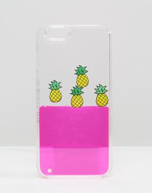 Skinnydip Чехол для iPhone 6/6s с ананасами. Цвет: мульти