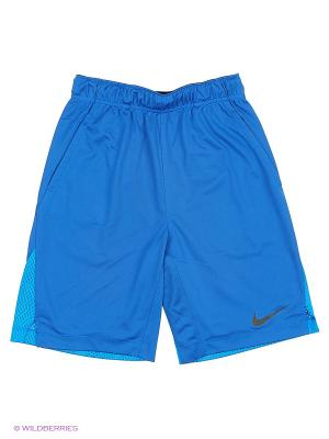Шорты AS HYPERSPEED KNIT SHORT YTH Nike. Цвет: синий, черный
