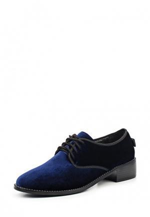 Ботинки Item Black. Цвет: синий