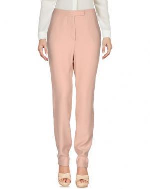 Повседневные брюки DEVOTION. Цвет: розовый