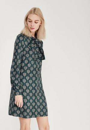Платье Ksenia Knyazeva. Цвет: зеленый
