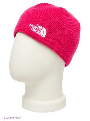Шапка The North Face. Цвет: розовый