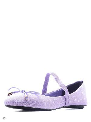 Балетки Modis. Цвет: сиреневый, фиолетовый