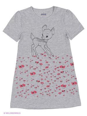 Ночная сорочка BAYKAR. Цвет: серый