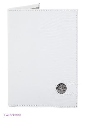 Обложка для паспорта Dimanche. Цвет: белый
