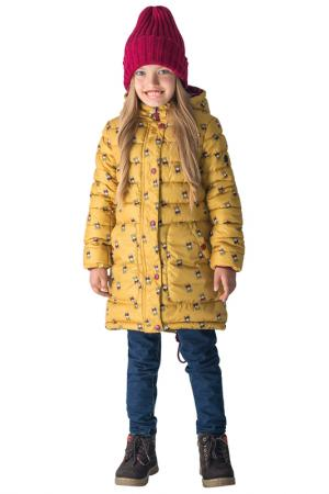 Пальто BOOM. Цвет: желтый