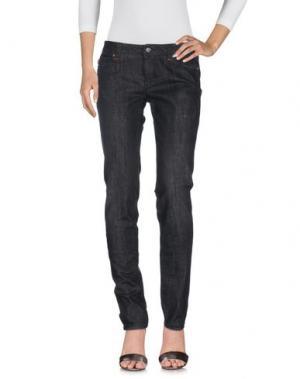 Джинсовые брюки TRAMAROSSA. Цвет: черный