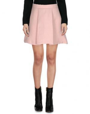Мини-юбка LUNATIC. Цвет: розовый