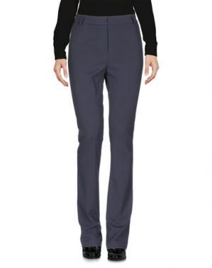 Повседневные брюки SOALLURE. Цвет: свинцово-серый