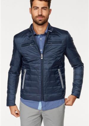 Стеганая куртка Rhode Island. Цвет: темно-синий