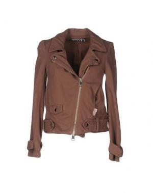 Куртка ANIYE BY. Цвет: светло-коричневый