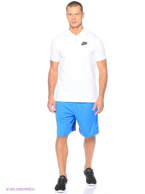 Футболка-поло M NSW POLO PQ MATCHP Nike. Цвет: белый