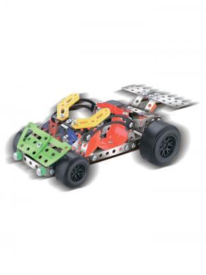 Конструктор Железный S3 Машинка L Склад Уникальных Товаров. Цвет: серебристый