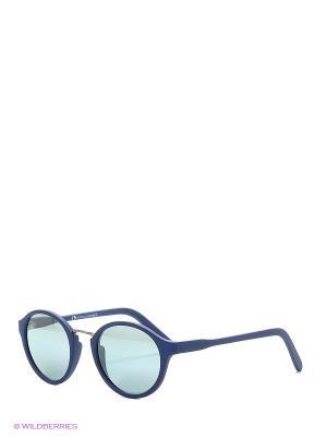 Солнцезащитные очки Franco Sordelli. Цвет: темно-синий