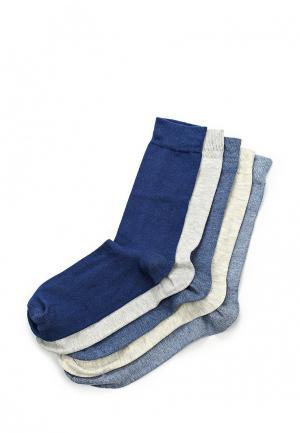 Комплект носков 5 шт. River Island. Цвет: разноцветный