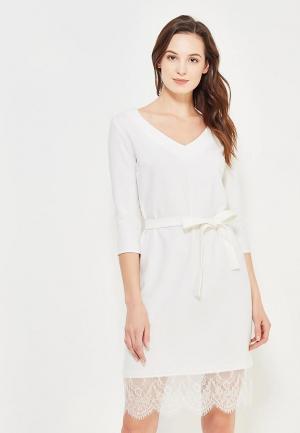 Платье Maria Golubeva. Цвет: белый