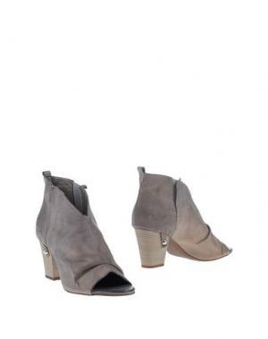 Ботинки SPAZIOMODA. Цвет: серый