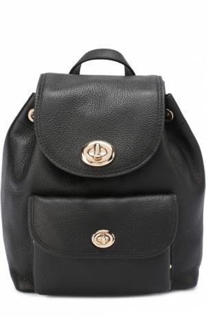 Рюкзак Mini Turnlock Coach. Цвет: черный