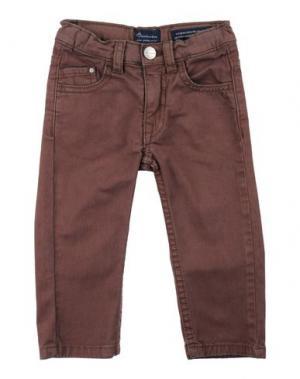 Повседневные брюки BARNUM. Цвет: какао