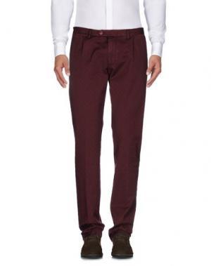 Повседневные брюки SARTORIA LATORRE. Цвет: какао