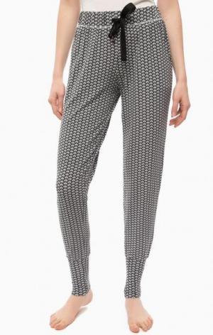 Домашние брюки с двумя карманами Jockey. Цвет: серый