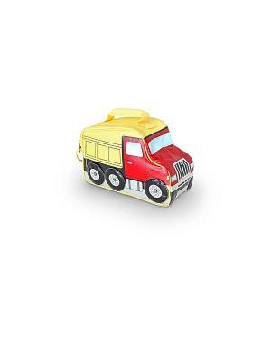 Детская сумка-термос Truck Novelty Thermos. Цвет: красный, желтый